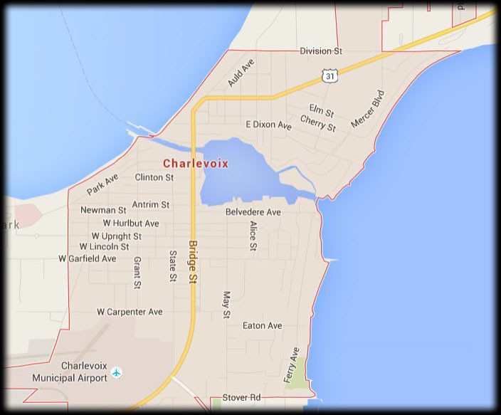 Map of Our Charlevoix Service Area
