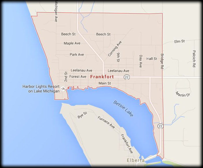 Map of Our Frankfort Service Area